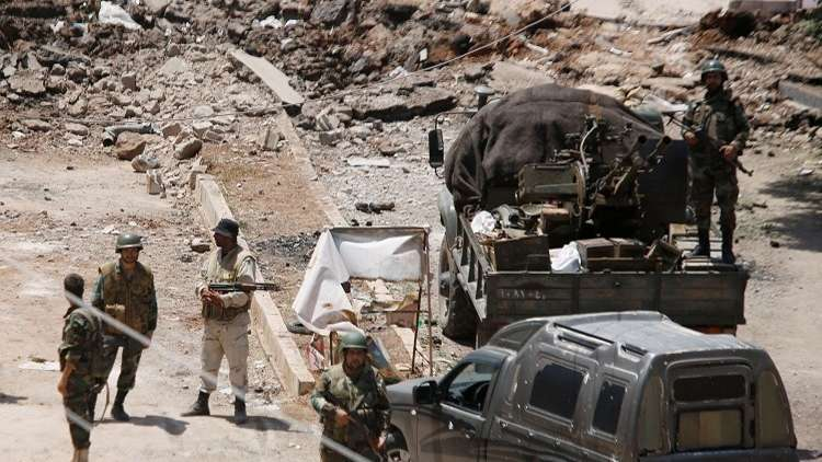 Photo of الجيش السوري يضبط مضادات فرنسية للدبابات في درعا