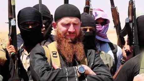 """صورة السلطات التركية تعتقل زوجة وزير الحرب السابق لدى """"داعش"""""""