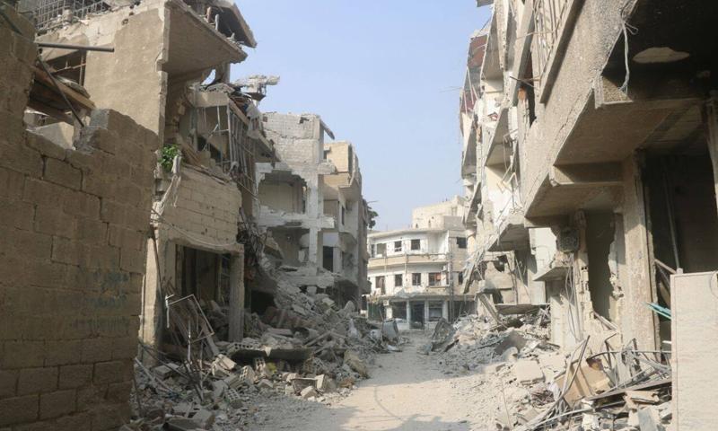 Photo of رمضان: 11 ألف ضبط أضرار في حرستا وكفر بطنا والمليحة والحجر