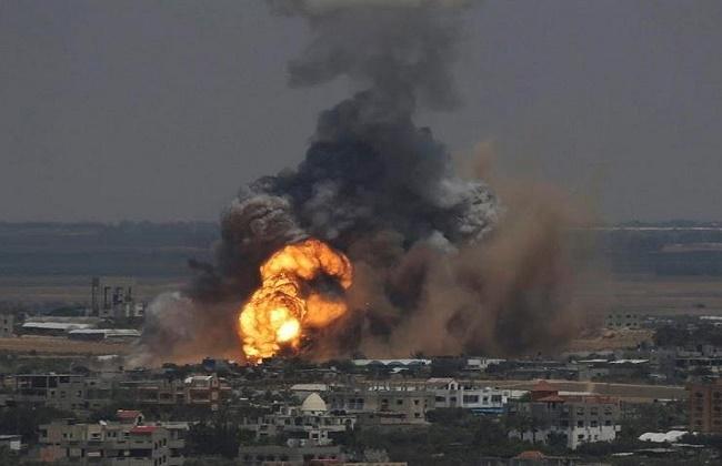 Photo of استشهاد شابين فلسطينيين في قصف للاحتلال على شمال غزة