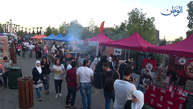 صورة شارع الأكل! لأول مرة في سورية ضمن مهرجان الشام بتجمعنا