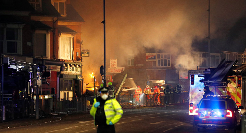 Photo of انفجار بمصنع عسكري في بريطانيا