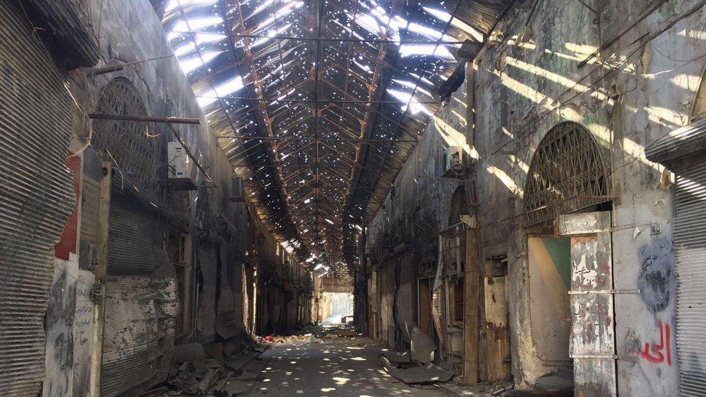 Photo of دياب يرفع وتيرة العمل في مشاريع حلب القديمة