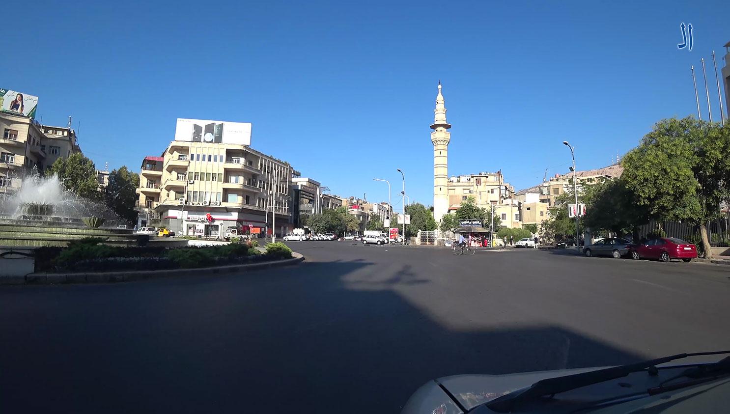 صورة شوارع مدينة دمشق صباح 26-8-2018