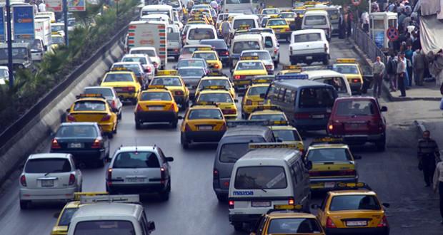 صورة ميداني: ازدياد عدد السيارات بدمشق إلى مليون