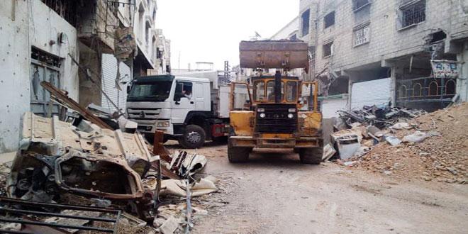 Photo of بكرو: 5 مليارات ليرة لترحيل أنقاض الغوطة