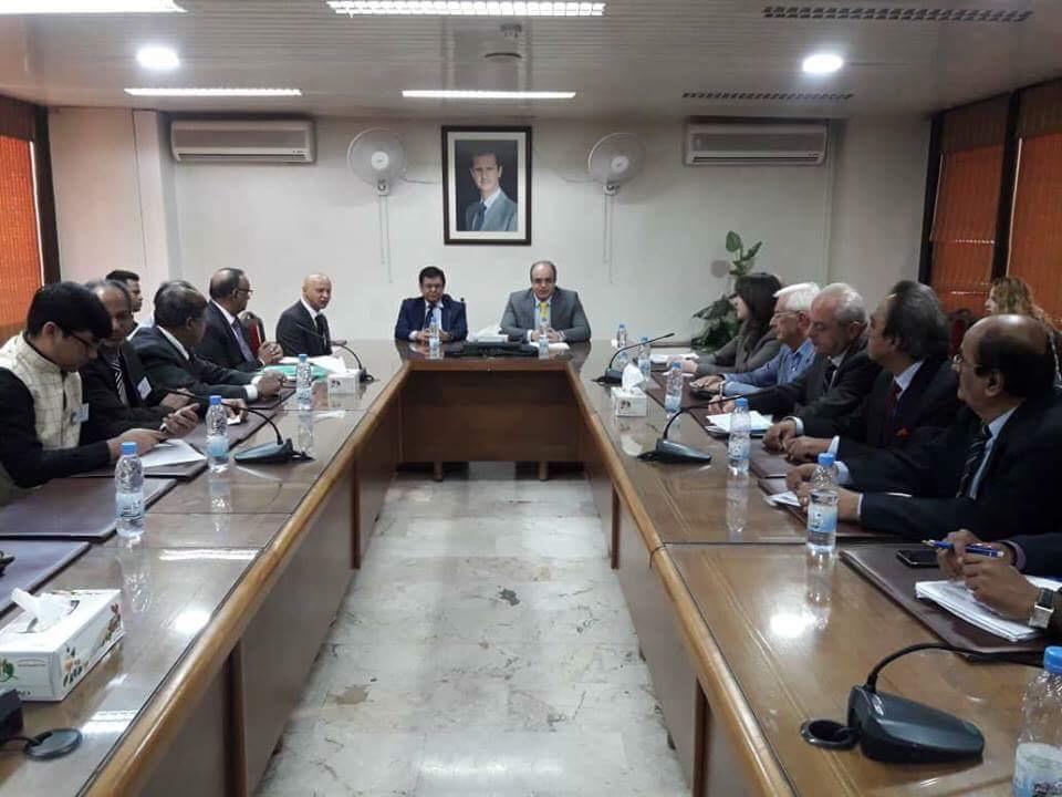 صورة وزير الاقتصاد: سورية ستكون أكبر ورشة عمل في العالم