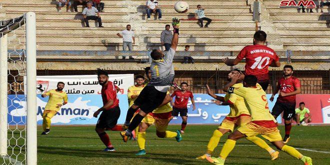 Photo of تشرين يتعثر ويبقى في الصدارة والساحل يعود لسكة الانتصارات