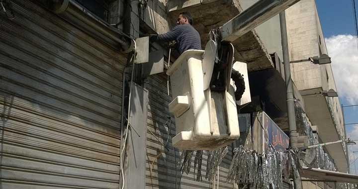 Photo of استعادة العدادات من تجار الأمبيرات وتركيبها للقاطنين في الغوطة