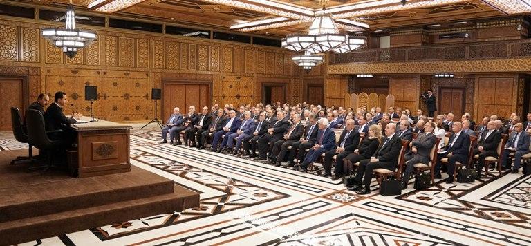 Photo of تعديلات واسعة خلال اجتماع اللجنة المركزية لحزب البعث العربي الاشتراكي