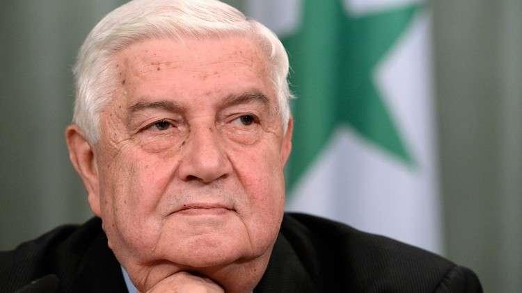Photo of المعلم: لن يكون هناك أية مرحلة انتقالية في سورية