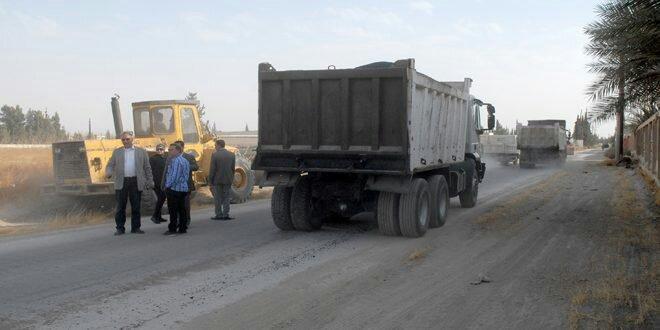 """Photo of لجنة لتقييم أضرار """"عدرا الصناعية"""" وعشرة معامل عادت إلى الصفر"""