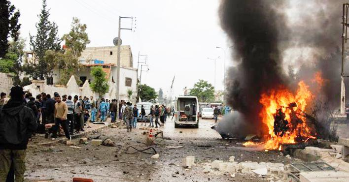 "Photo of عشرات القتلى من ميليشيا ""قسد"" بانفجار مفخخة في الرقة"