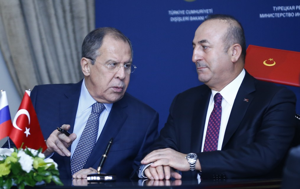 """Photo of لافروف وأوغلو يبحثان التحضيرات لعقد جولة جديدة من """"أستانا"""""""
