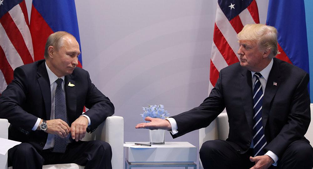 "Photo of تصريحات متضاربة بين ترامب والكرملين حول ""لقاء القمة"" في باريس"