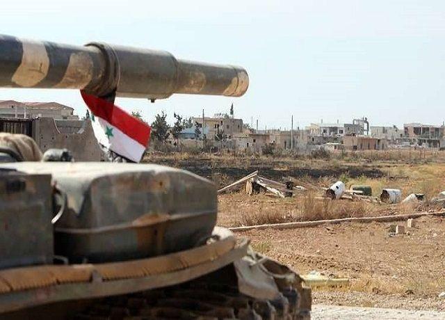 """صورة الجيش يحبط تسلل إرهابيي """"النصرة"""" و""""الحزب التركستاني"""" إلى نقاط عسكرية بريف حماة الشمالي"""