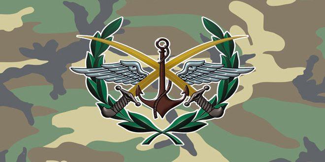 صورة القيادة العامة للجيش تصدر أمراً إدارياً ينهي الاحتفاظ والاستدعاء للضباط المجندين والاحتياطيين