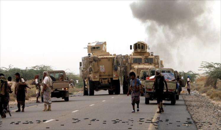 "Photo of ""أنصار الله"" تكسر هجوما واسعا للتحالف السعودي على الحديدة"