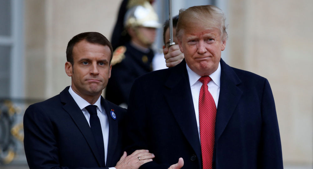 Photo of ترامب يفاوض ماكرون على حل أزمة فرنسا ويقدم الحل