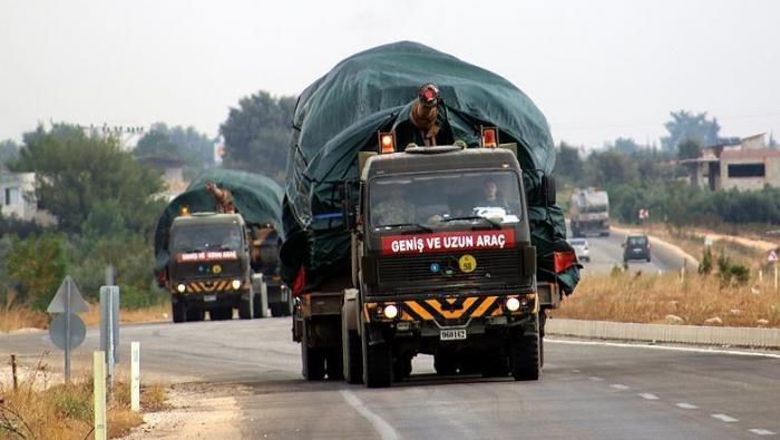 صورة أنقرة ترسل تعزيزات عسكرية إلى كليس الحدودية مع سورية