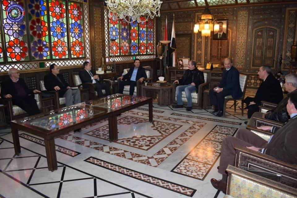 "Photo of غرفة صناعة دمشق تطالب بـ 3 آلاف م لمهرجان ""صنع في سورية"""