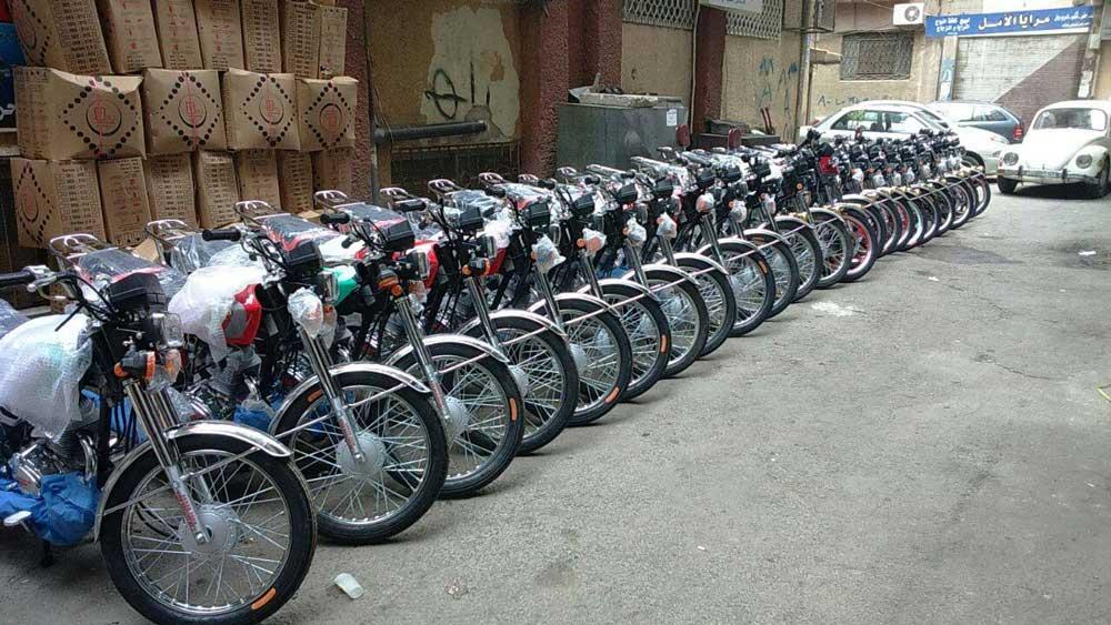 صورة مدير المكافحة: دراجات مهرّبة يتم تجميعها في معامل وبيعها على أنها محلية الصنع