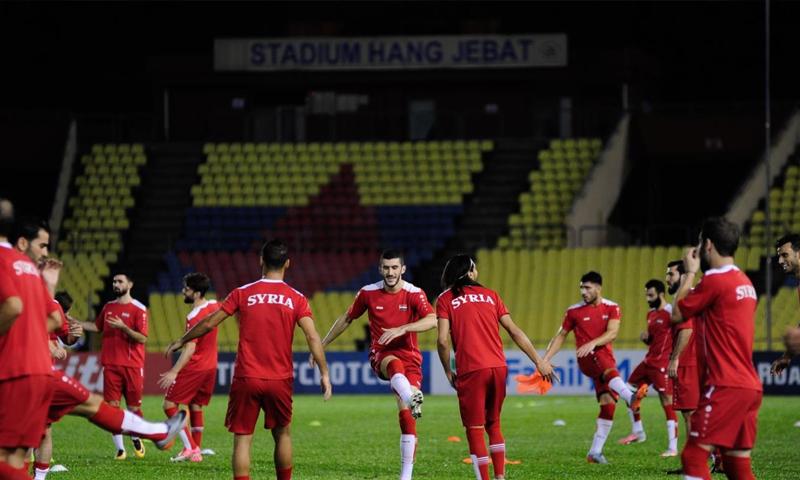 Photo of منتخب سورية لكرة القدم يبدأ تدريباته استعداداً لنهائيات آسيا  