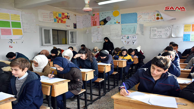 Photo of طلاب سورية يبدؤون الامتحانات النصفية