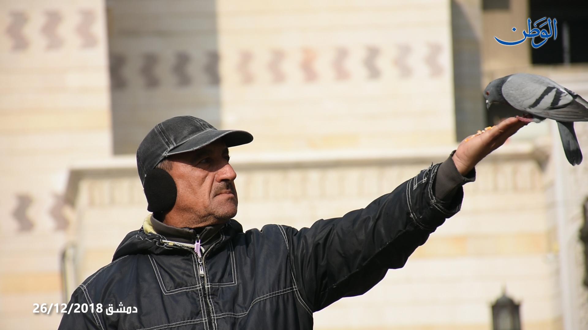 Photo of اجواء مدينة دمشق صباح العدوان الصهيوني