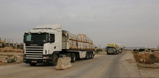 Photo of عمر عزت مديراً لمكتب تنظيم نقل البضائع بحلب
