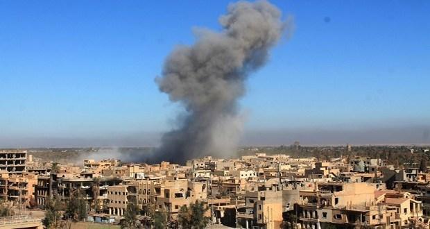 """Photo of ارتفاع حصيلة مجزرة """"التحالف الدولي"""" في ريف دير الزور إلى 31 شهيدا"""