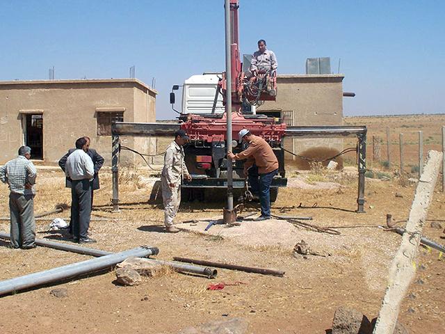 صورة بكلفة مليار ليرة.. إنشاء خزان مياه إرواء حرف المسيترة