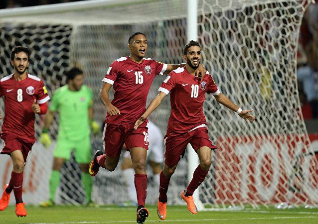 صورة قطر للمرة الأولى في نهائي آسيا بعد رباعية نظيفة في مرمى الإمارات