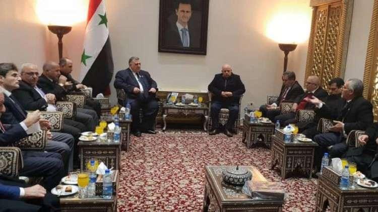 Photo of وفد أردني زار دمشق .. وفرويل: اجتماع اتحاد المقاولين العرب في سورية