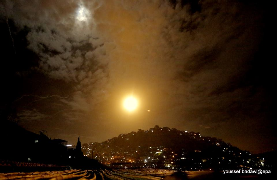 Photo of حصيلة الاعتداء الاسرائيلي على دمشق الليلة الماضية