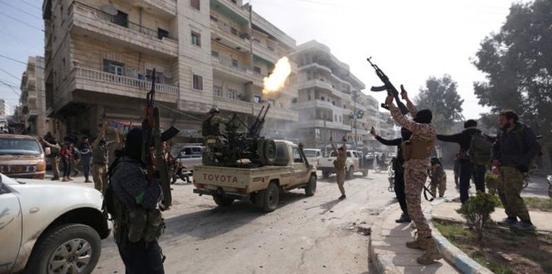 Photo of تجدد الاشتباكات الدامية بين الميليشيات المسلحة في عفرين