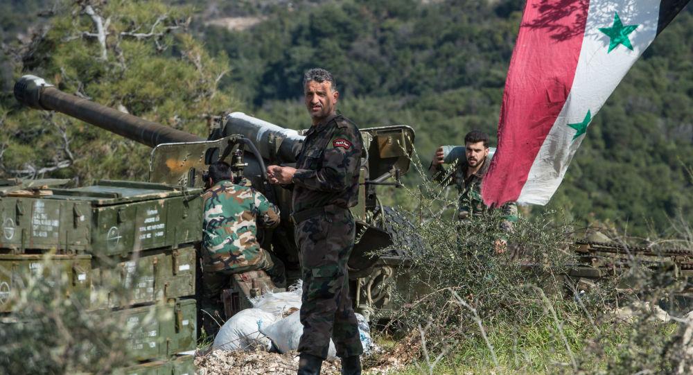 """Photo of الجيش السوري يؤلم عناصر """"التركستاني"""" في إدلب"""