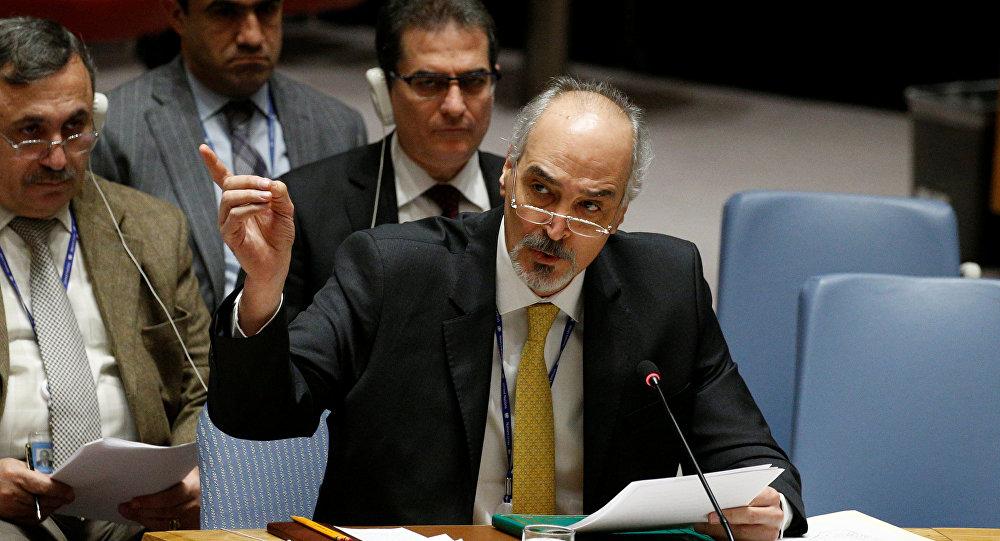 Photo of الجعفري: المسار السياسي مرتبط بإنهاء التواجد العسكري غير الشرعي في سورية