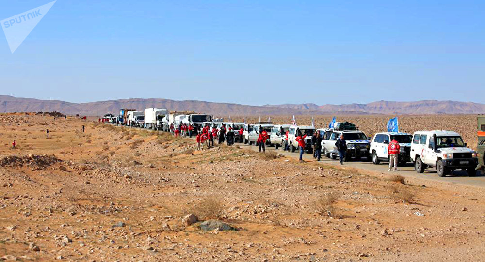 "Photo of بيان روسي سوري مشترك: واشنطن تضلل النازحين في مخيم ""الركبان"" لمنع خروجهم"