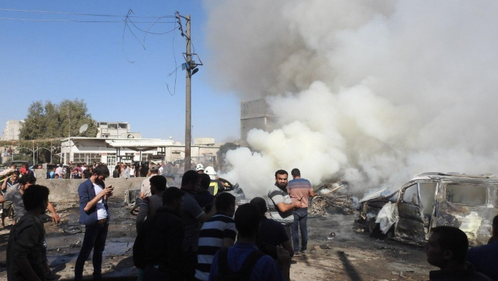 Photo of 6 قتلى بينهم 3 جنود أتراك بانفجار في جرابلس