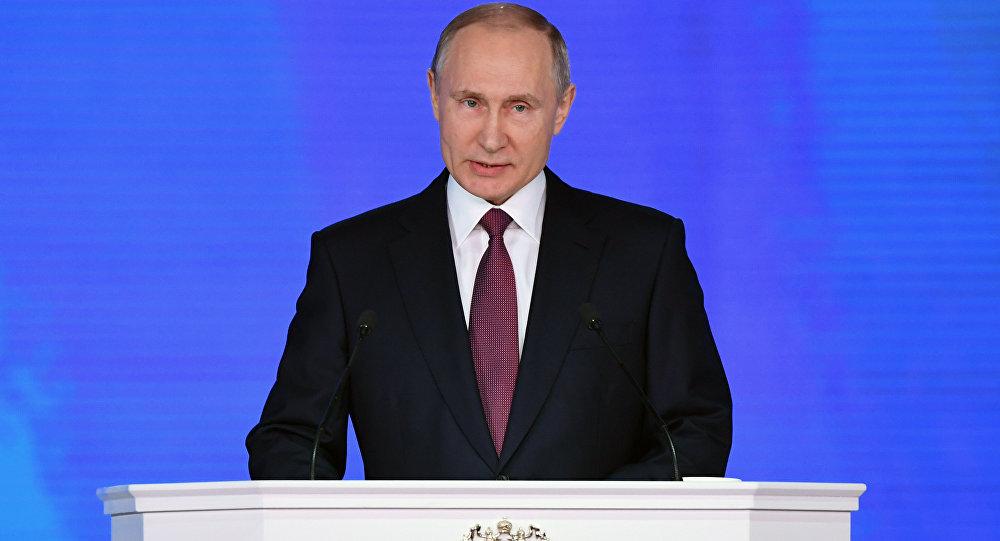 صورة بوتين: روسيا ستبذل كل الجهود الممكنة لدعم حل الأزمات الإقليمية سلميّاً