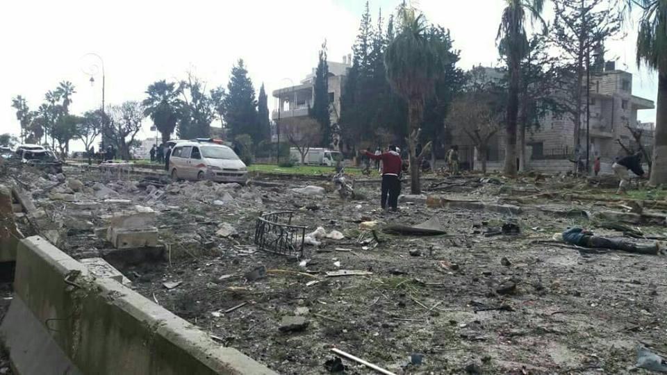 "Photo of 16 قتيلا في تفجيري إدلب.. و""النصرة"" تعترف بمقتل 4 عناصر شمال حماة"