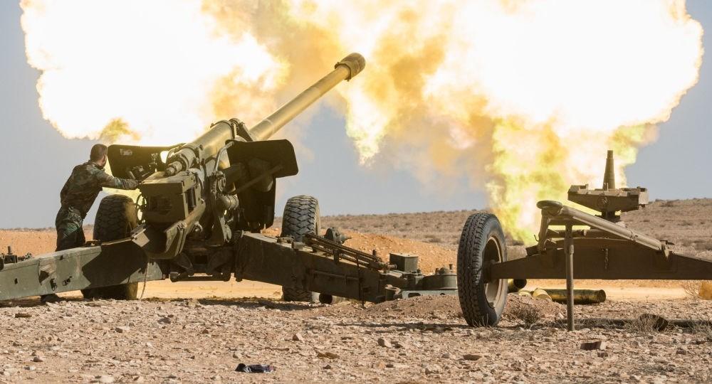 """صورة على طول ريف حماة الشمالي.. الجيش يسحق إرهابيي """"النصرة"""""""