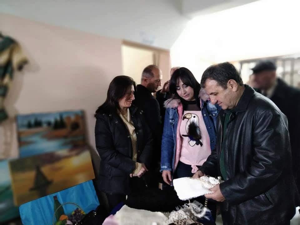 Photo of افتتاح مركز التنمية للأعمال اليدوية في مشقيتا باللاذقية