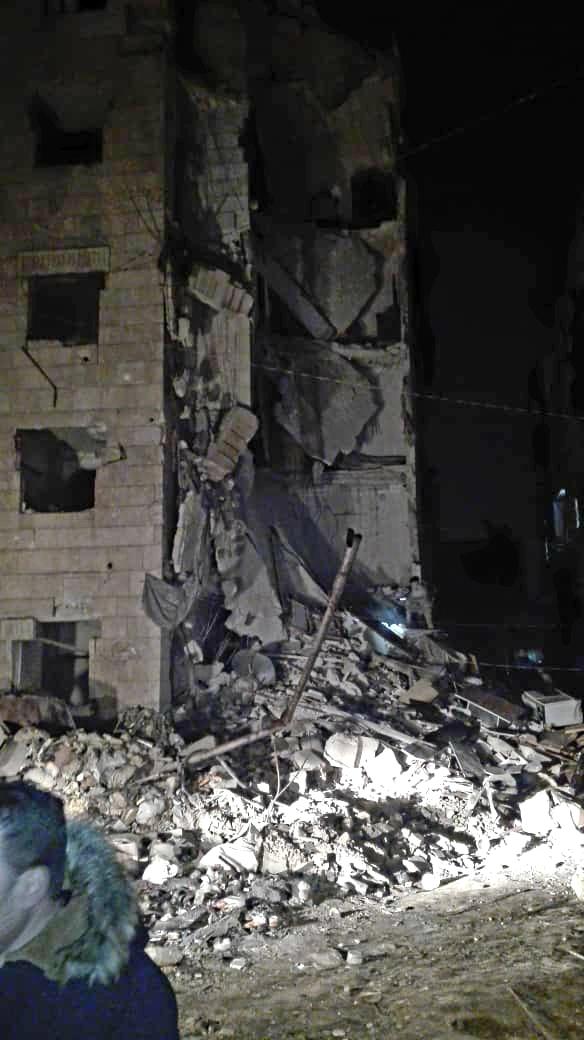 Photo of انهيار 3 أبنية مخلاة من سكانها خلال 10 أيام في حلب