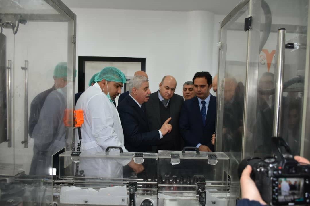 """صورة بقيمة 340 ألف يورو.. افتتاح خط إنتاج الشراب الجاف في شركة """"تاميكو"""""""