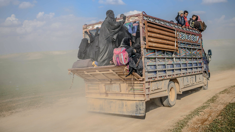 "Photo of خروج 2000 شخص من جيب ""داعش"" خلال الساعات الماضية"
