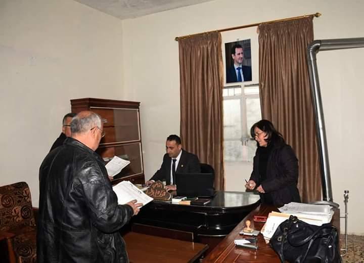 Photo of إعادة افتتاح محكمة الصلح في منطقة الحولة بريف حمص