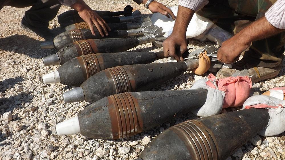 """صورة شهيد و3 جرحى بقذائف """"النصرة"""" الإرهابية على أحياء غرب حلب"""