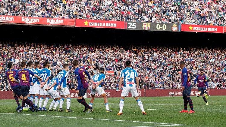 Photo of ميسي يفوز على إسبانيول في الدوري الإسباني